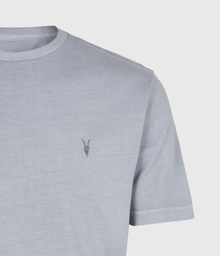 Mens Ossage Crew T-Shirt (moonlit_blue) - Image 3
