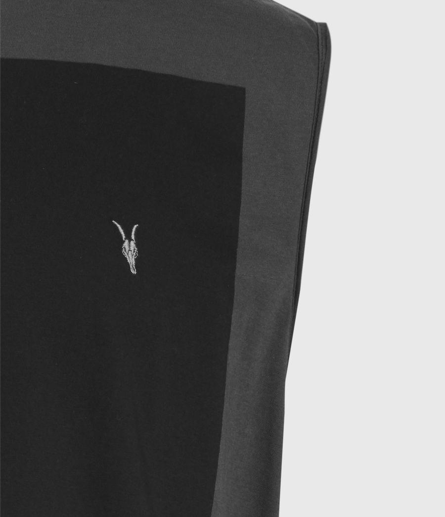 Men's Lobke Sleeveless Crew T-Shirt (washed_black) - Image 4
