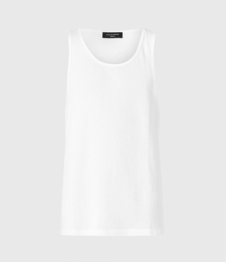 Men's Tracery Vest (optic_white) - Image 1