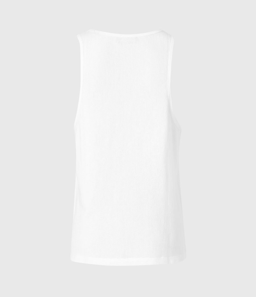 Men's Tracery Vest (optic_white) - Image 2