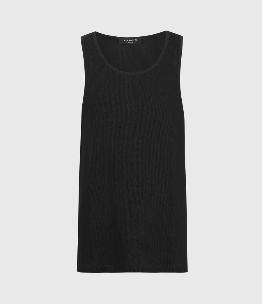 Mens Tracery Vest (jet_black) - Image 1