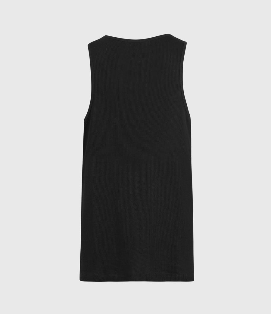 Mens Tracery Vest (jet_black) - Image 2