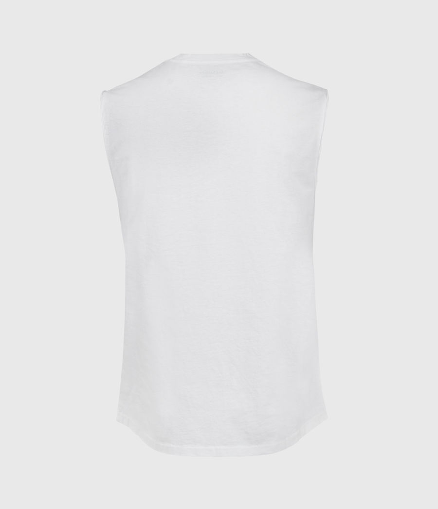 Hombres Camiseta sin Mangas Vision (white) - Image 2