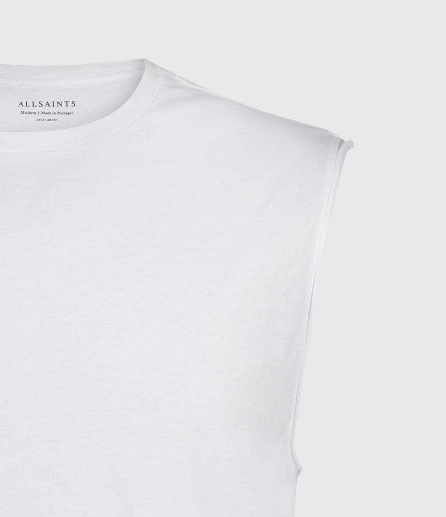 Hombres Camiseta sin Mangas Vision (white) - Image 3