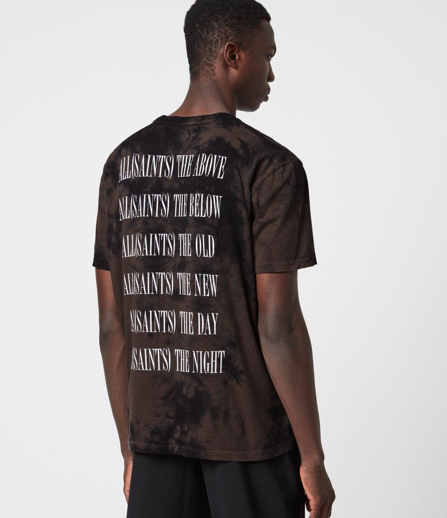 Herren Batik Stamp T-Shirt (grey_marl) - Image 1