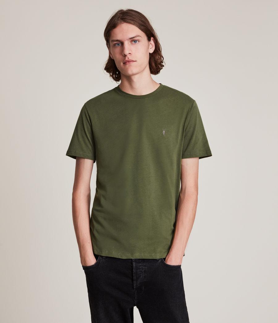 Herren Brace Tonic Crew 3 Pack T-Shirts (marsh_jet_blk_wht) - Image 2