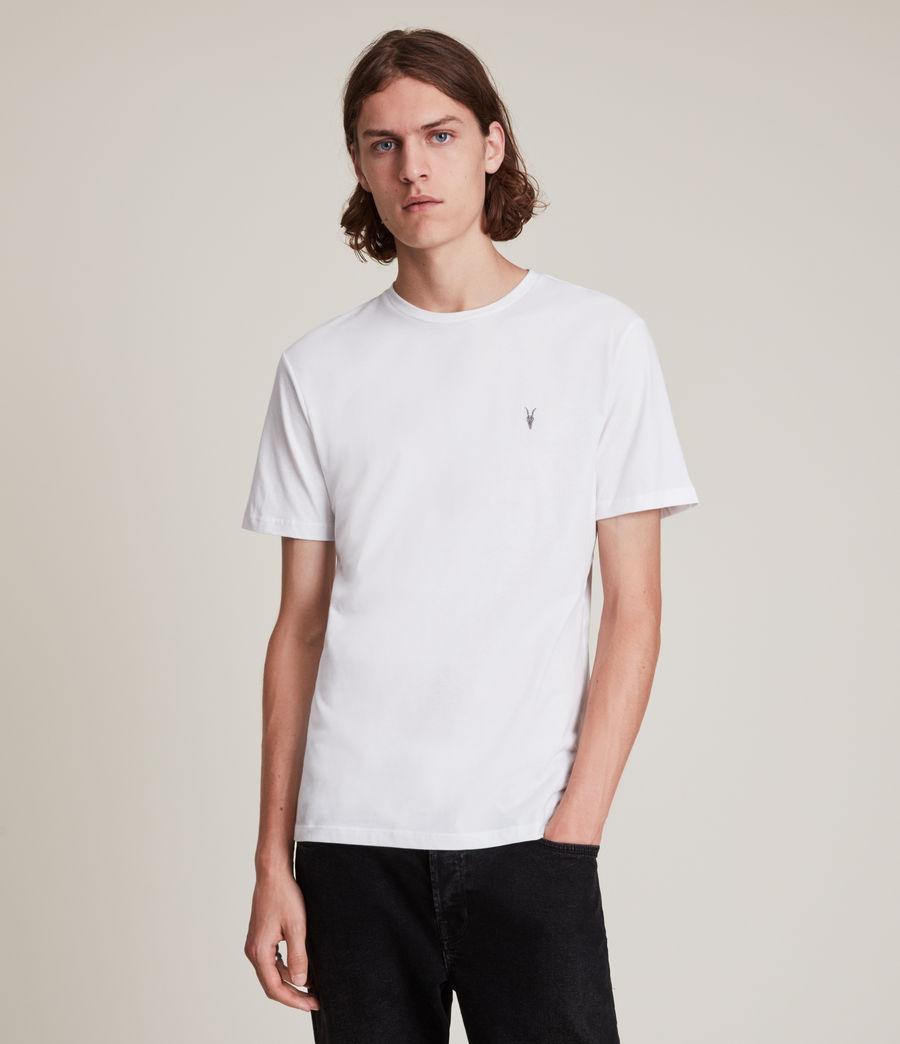Herren Brace Tonic Crew 3 Pack T-Shirts (marsh_jet_blk_wht) - Image 3