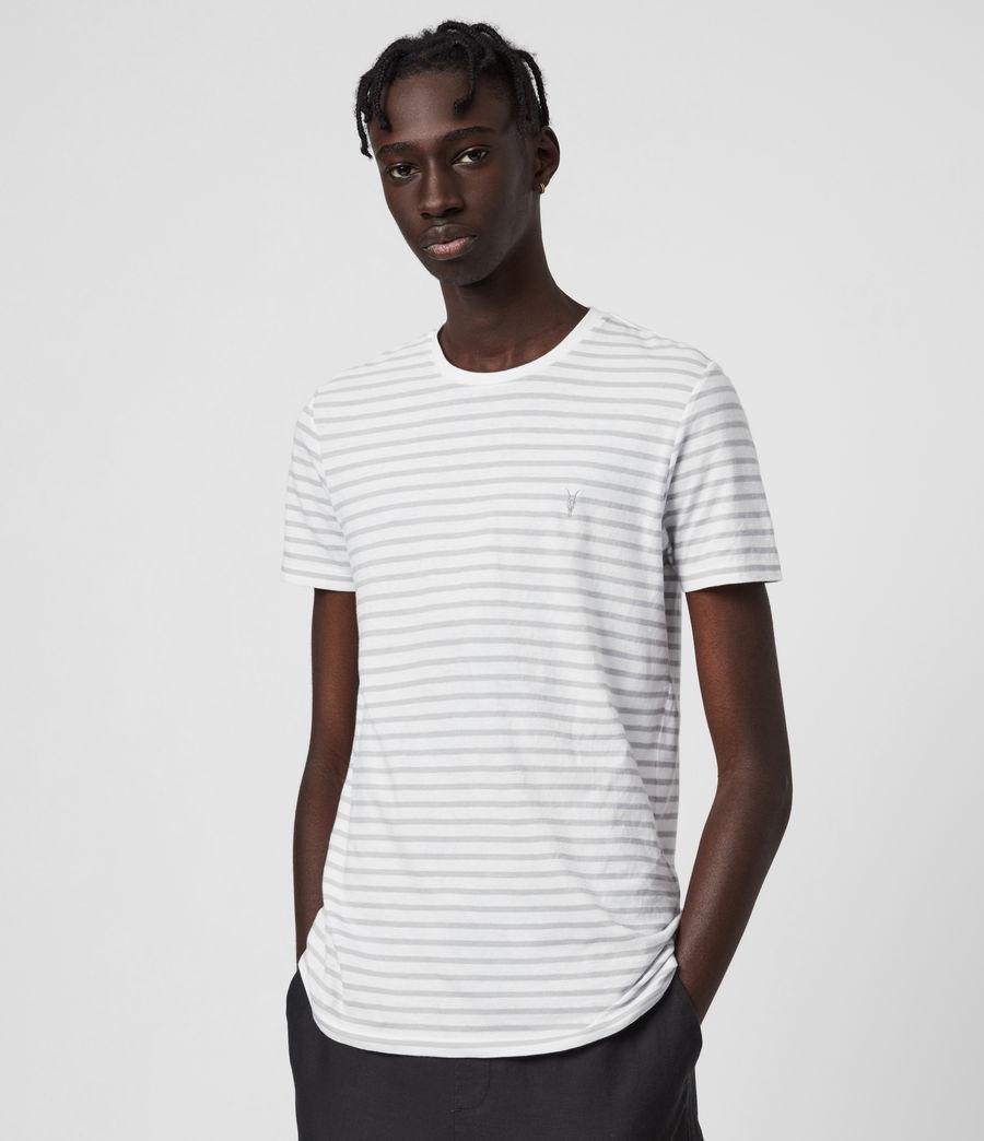 Men's Tonic Status Crew T-Shirt (chalk_white_grey) - Image 1