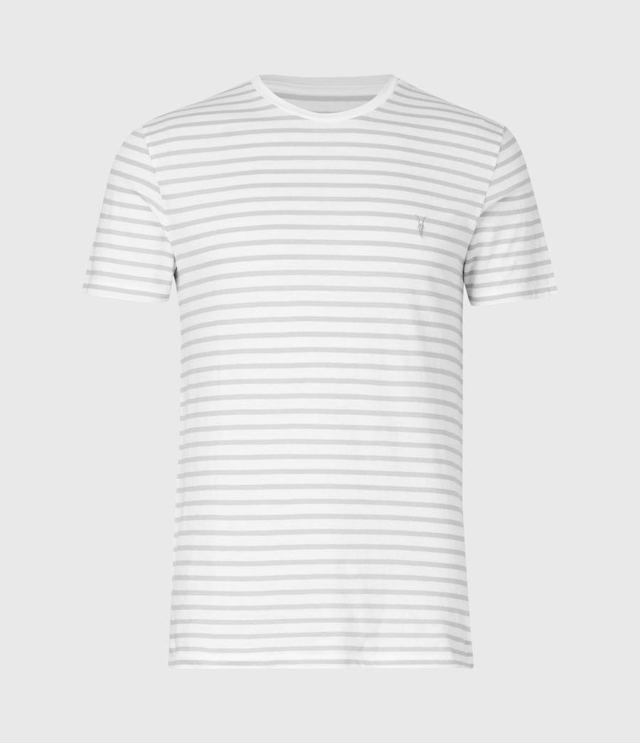 Men's Tonic Status Crew T-Shirt (chalk_white_grey) - Image 2