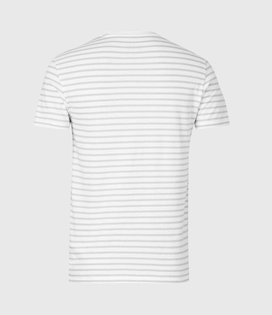 Men's Tonic Status Crew T-Shirt (chalk_white_grey) - Image 3