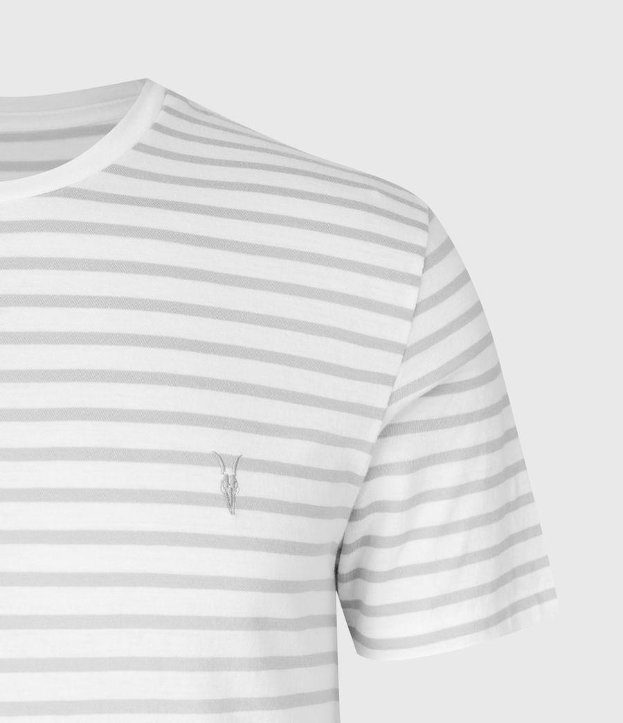 Men's Tonic Status Crew T-Shirt (chalk_white_grey) - Image 5
