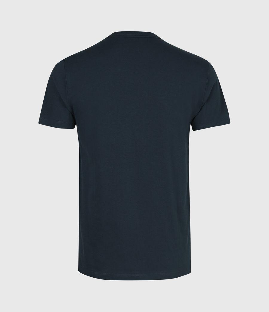 Mens Brace Contrast Crew T-Shirt (sapphire_blue) - Image 3