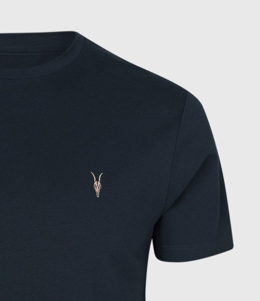 Mens Brace Contrast Crew T-Shirt (sapphire_blue) - Image 5