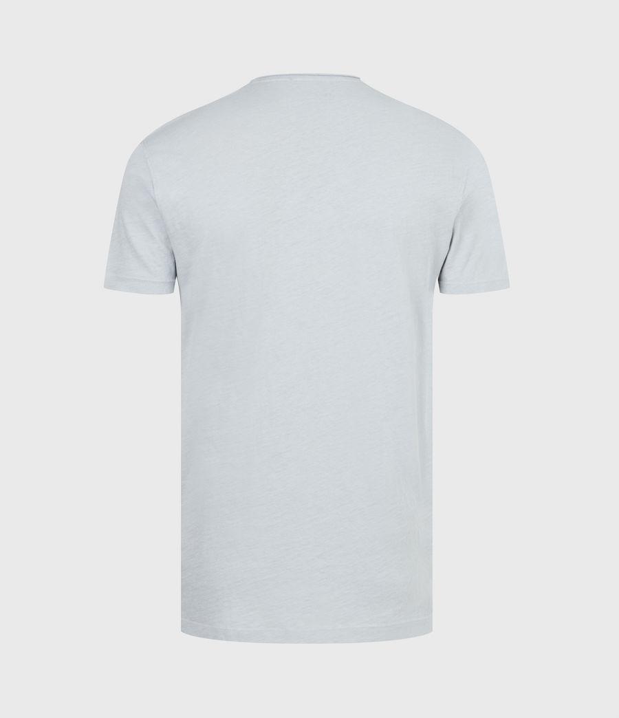 Mens Figure Crew T-Shirt (breezy_blue) - Image 3
