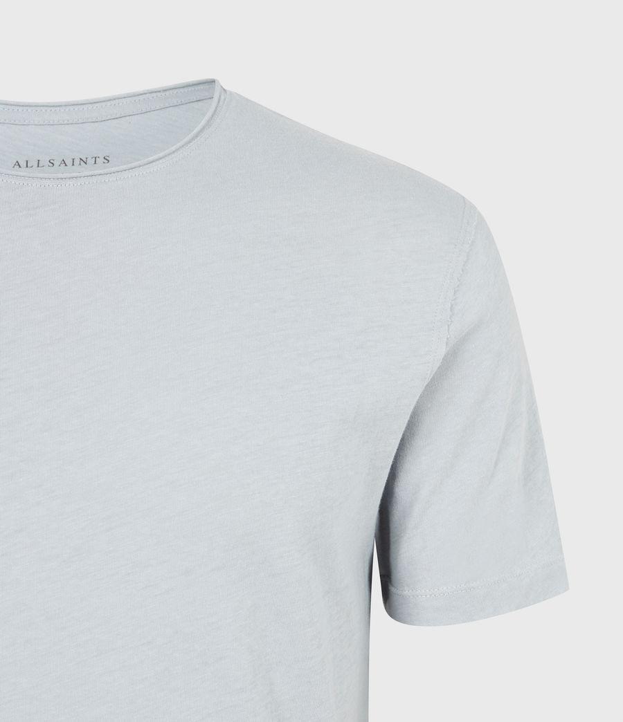Mens Figure Crew T-Shirt (breezy_blue) - Image 5