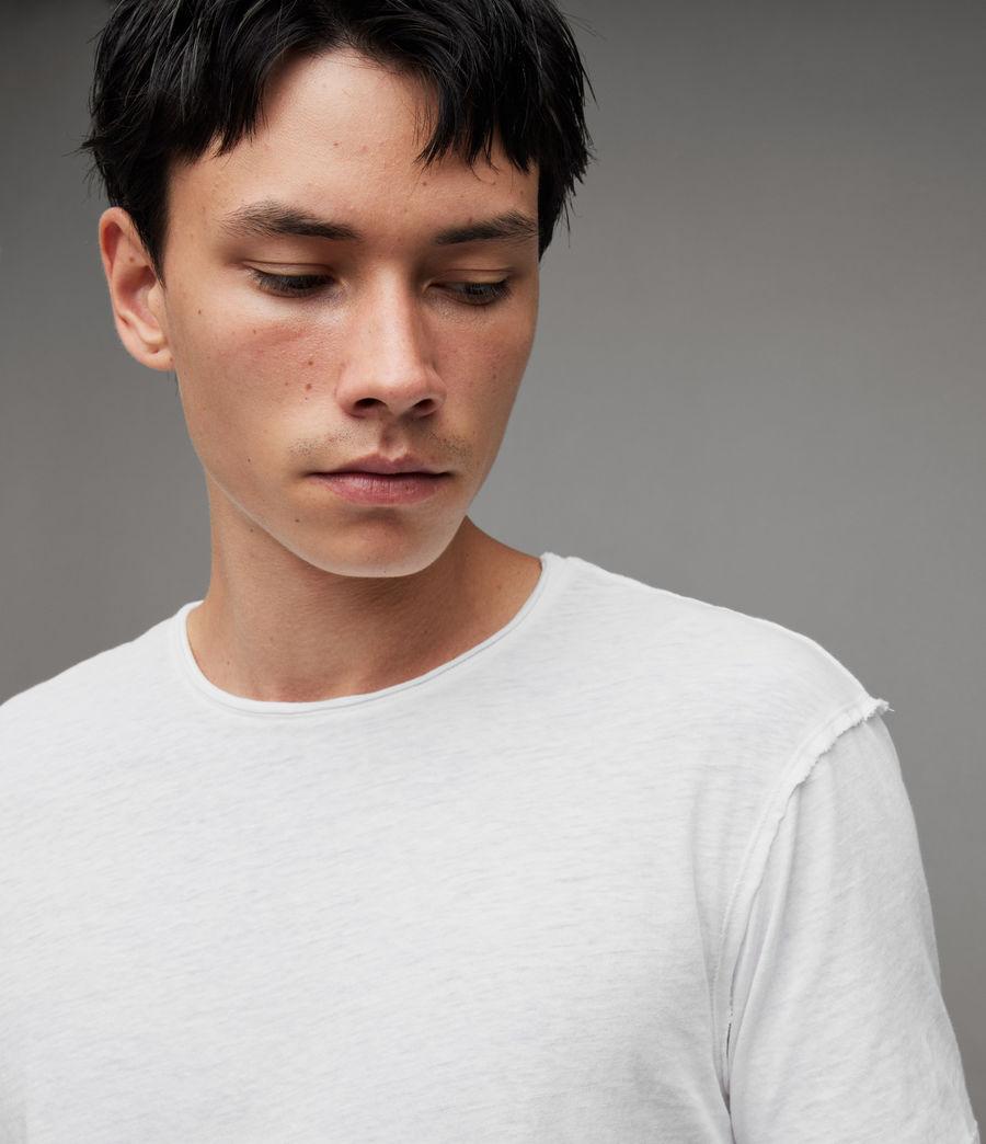 Herren Figure Crew 2er Pack T-Shirts (white) - Image 3