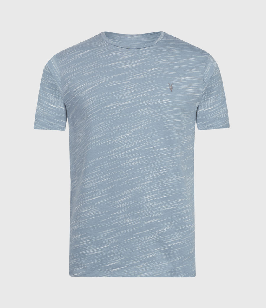 Mens Owen Crew T-Shirt (enamel_blue) - Image 2