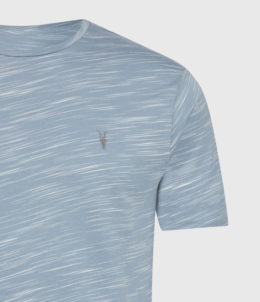 Mens Owen Crew T-Shirt (enamel_blue) - Image 7