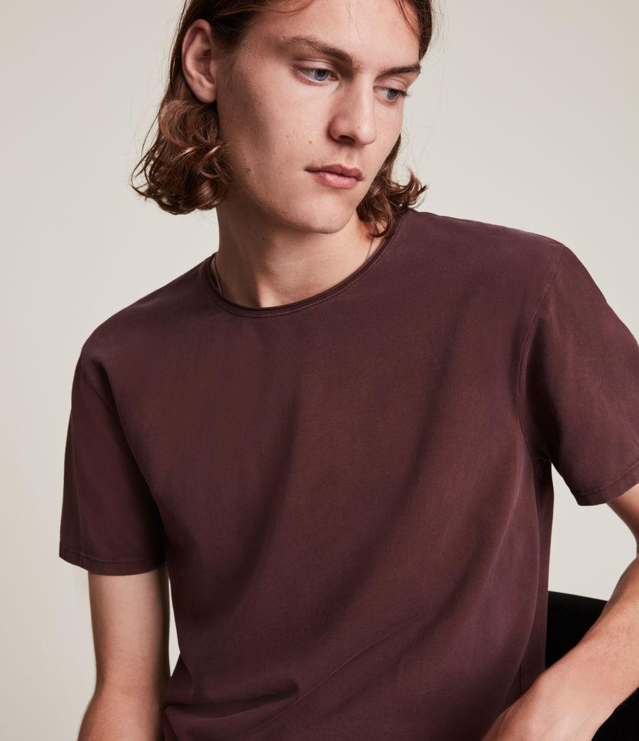 Hommes Bodega Crew T-Shirt (charred_red) - Image 2