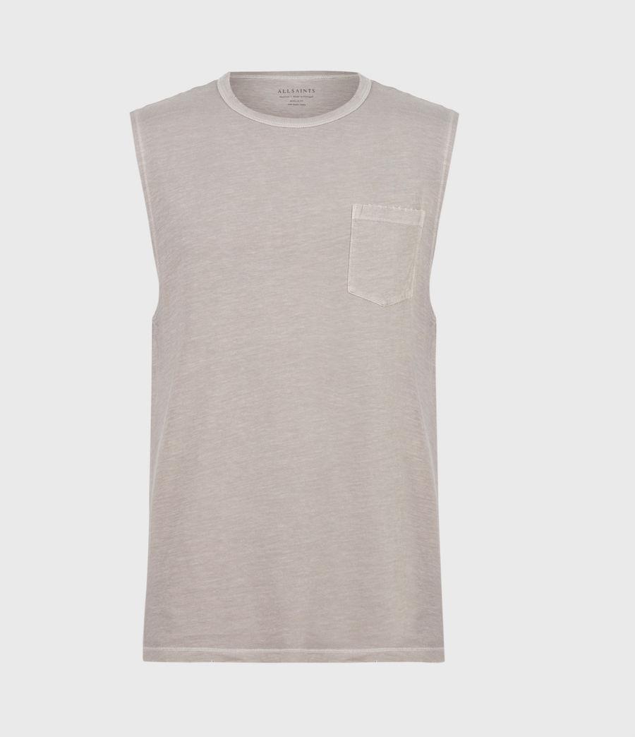Men's Pilot Organic Cotton Vest (grey) - Image 2