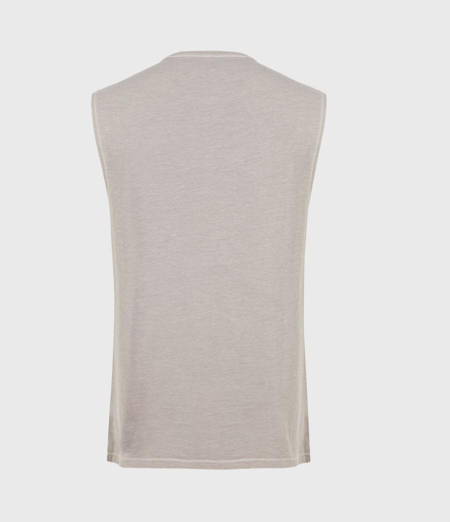 Men's Pilot Organic Cotton Vest (grey) - Image 3