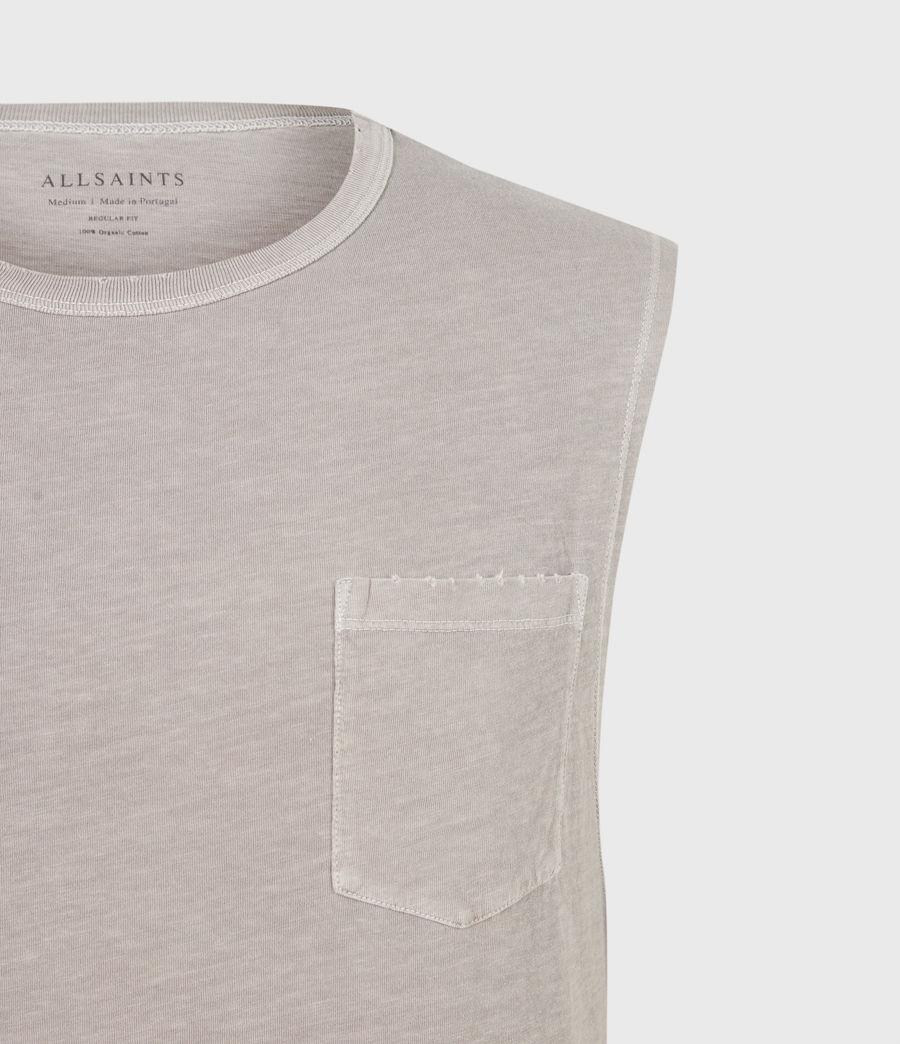 Men's Pilot Organic Cotton Vest (grey) - Image 5