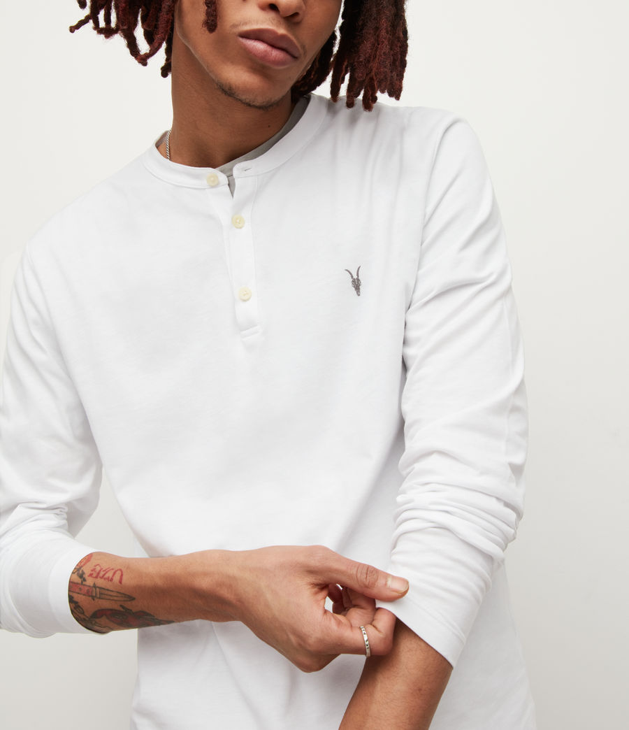 Men's Brace Henley (optic_white) - Image 2
