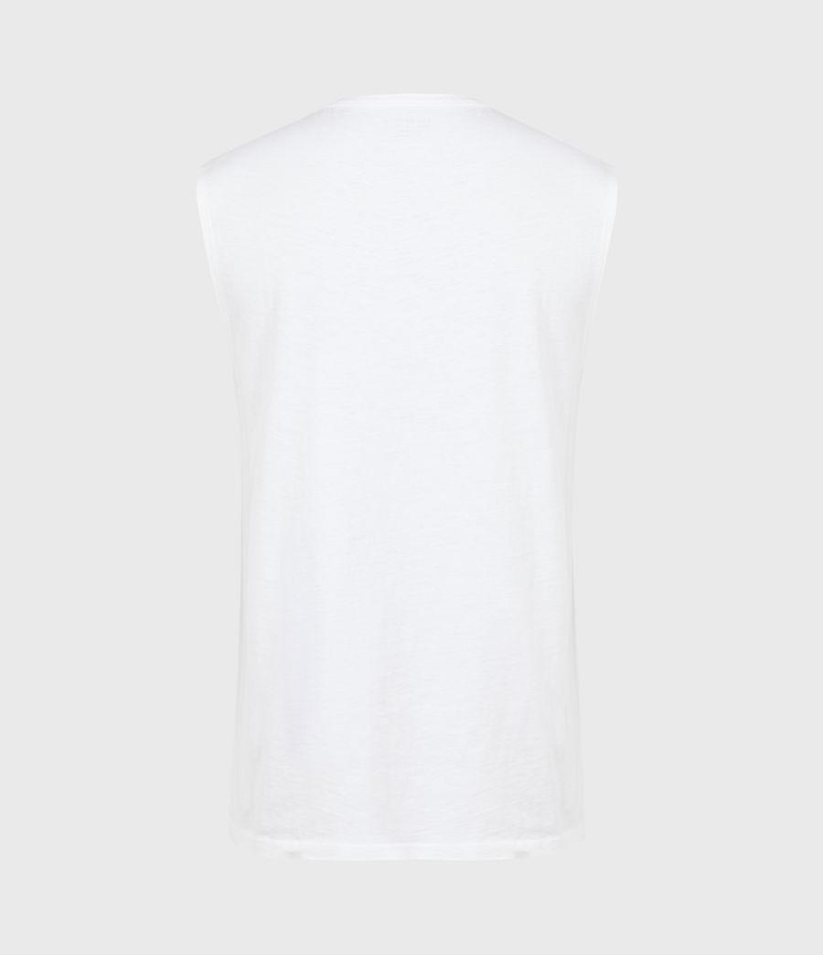 Men's Pilot Organic Cotton Vest (optic_white) - Image 3