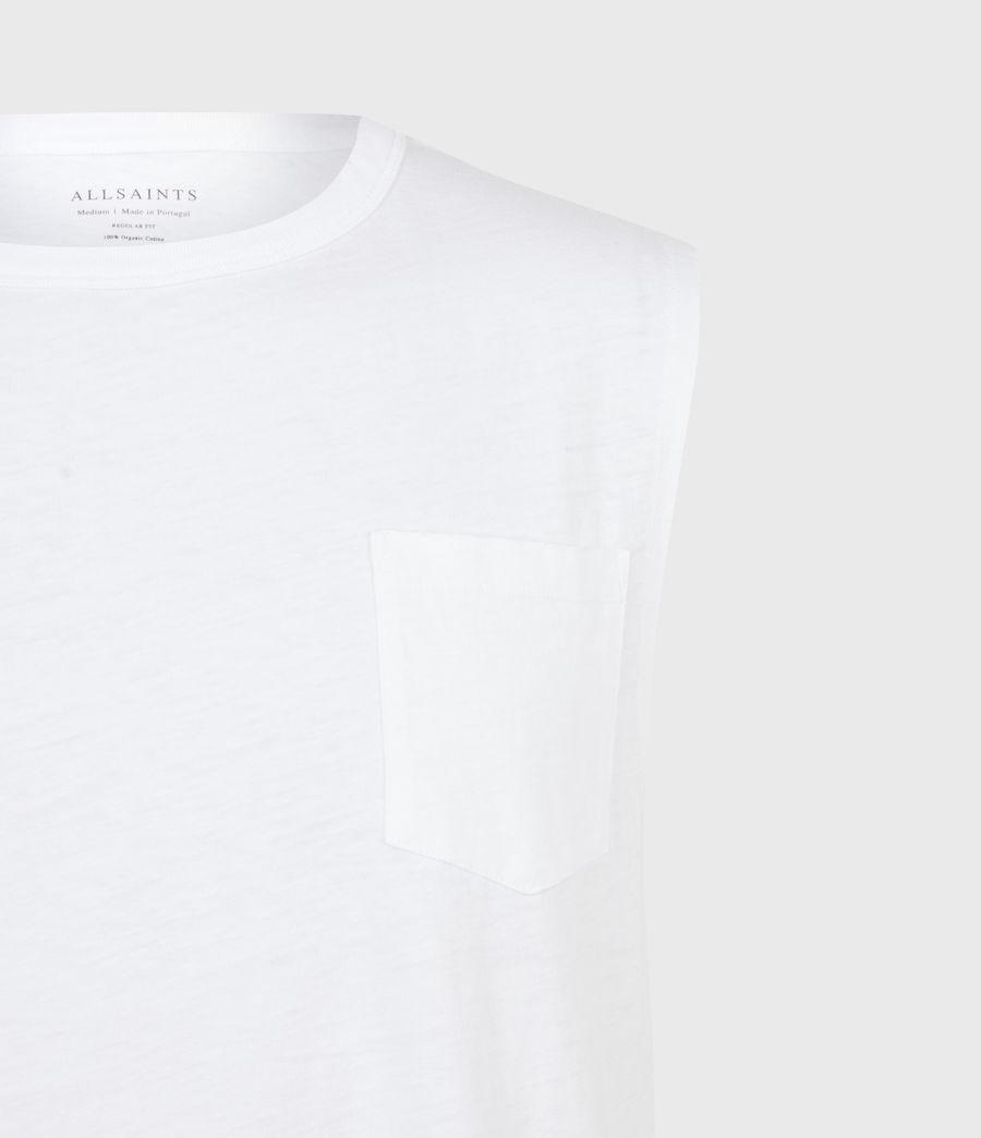 Men's Pilot Organic Cotton Vest (optic_white) - Image 5