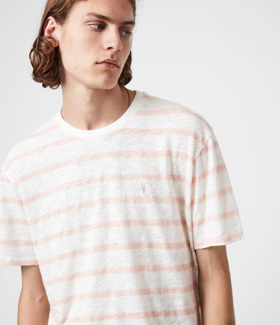 Men's Bamford Crew T-Shirt (rose_ash_chalk_wht) - Image 4