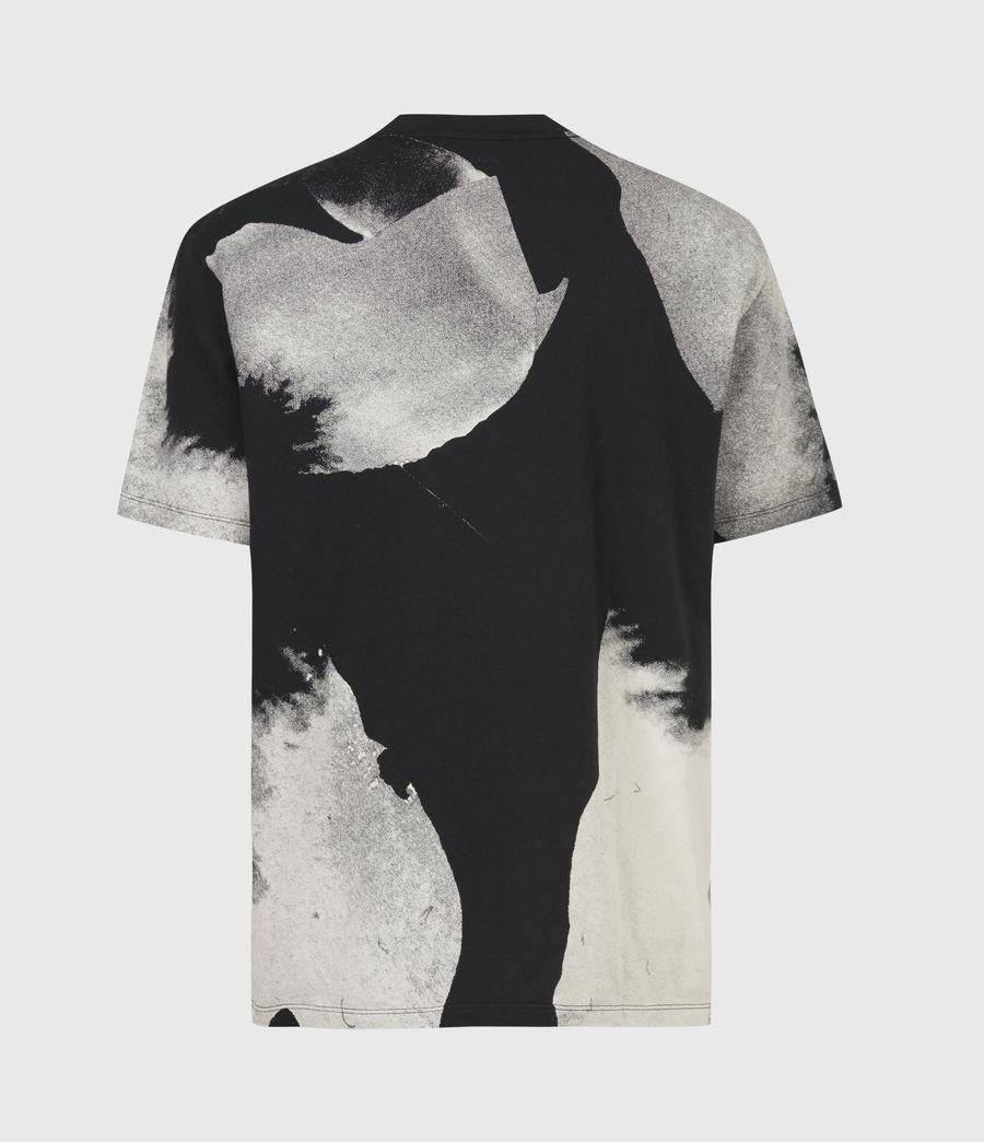 Men's Santana Crew T-Shirt (jet_black_grey) - Image 3