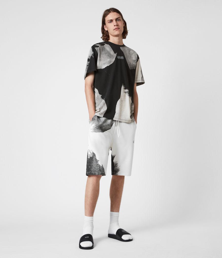 Men's Santana Crew T-Shirt (jet_black_grey) - Image 4