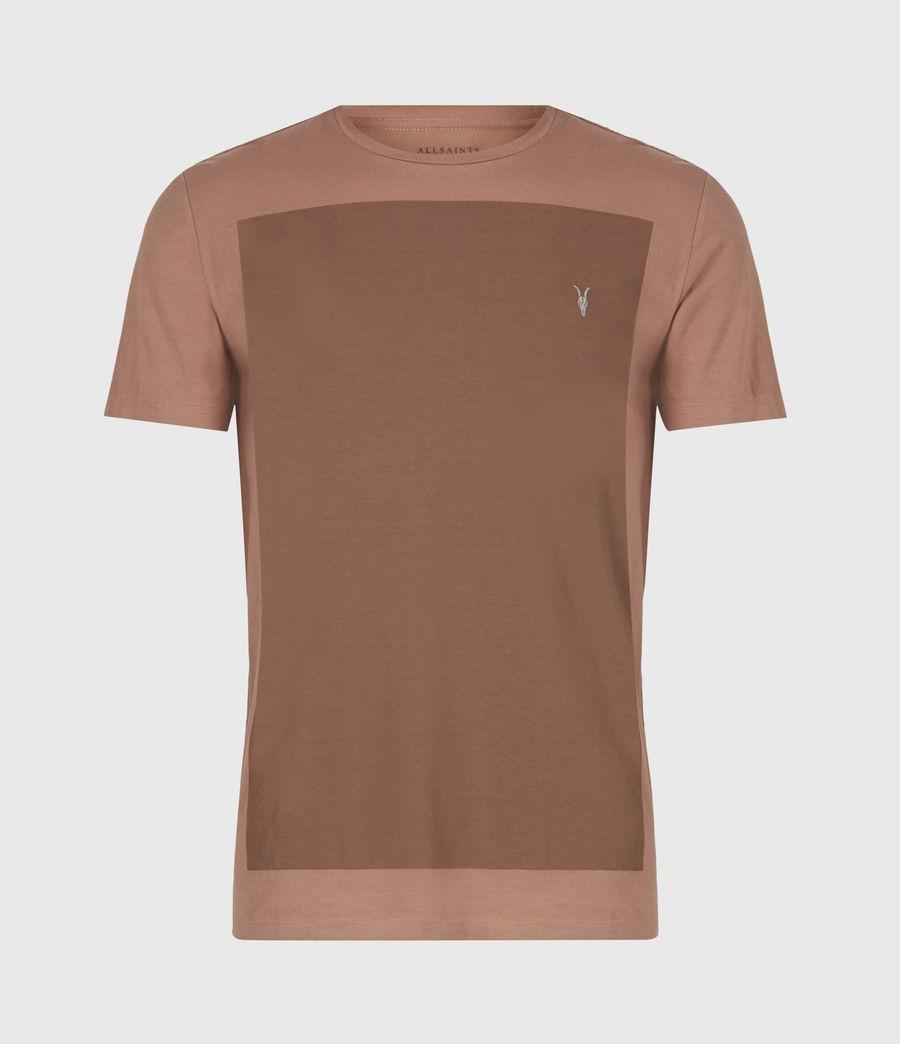 Men's Lobke Crew T-Shirt (sandstone_dusky_bn) - Image 2