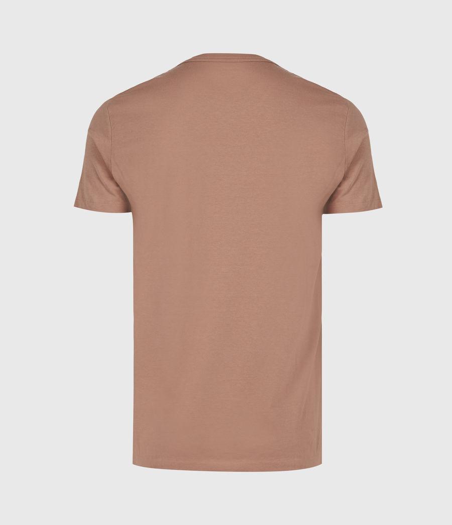 Men's Lobke Crew T-Shirt (sandstone_dusky_bn) - Image 3
