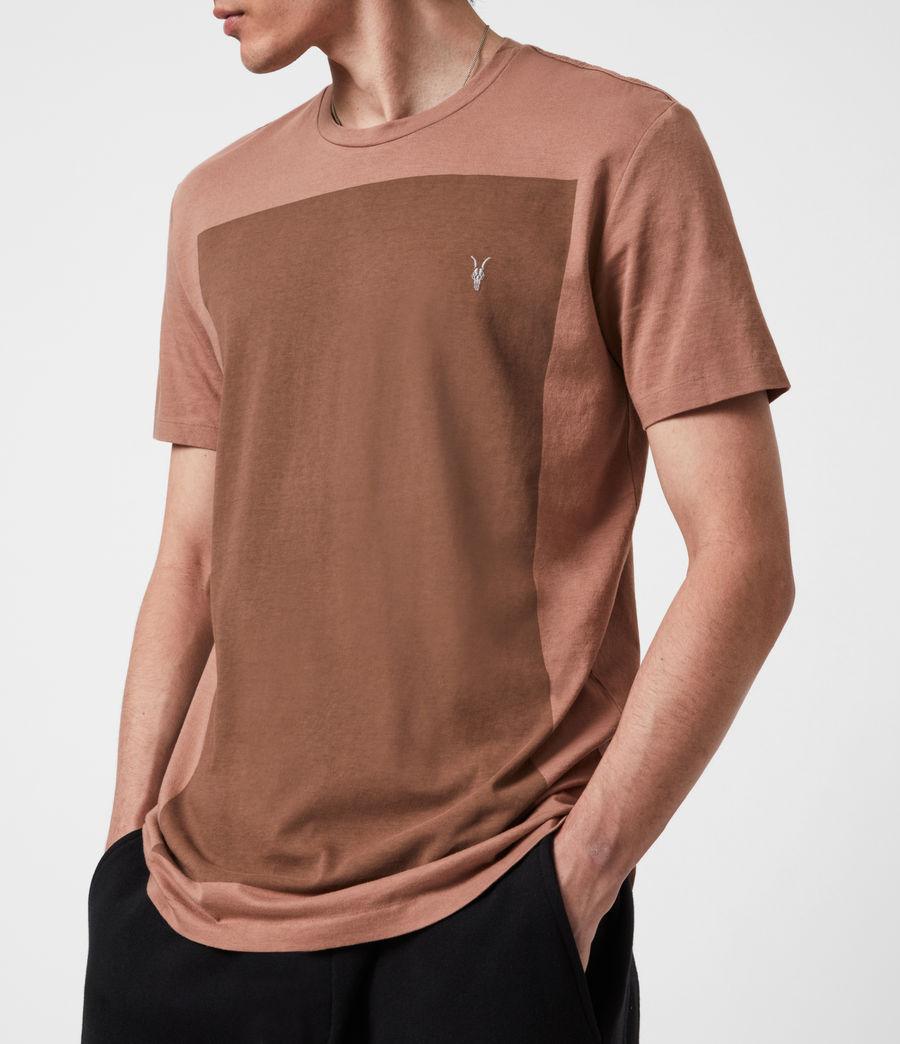 Men's Lobke Crew T-Shirt (sandstone_dusky_bn) - Image 4