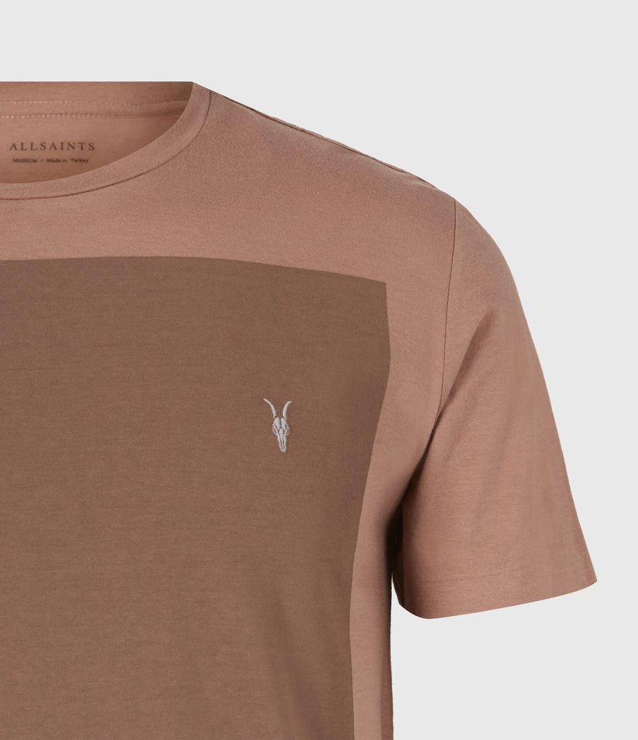 Men's Lobke Crew T-Shirt (sandstone_dusky_bn) - Image 5