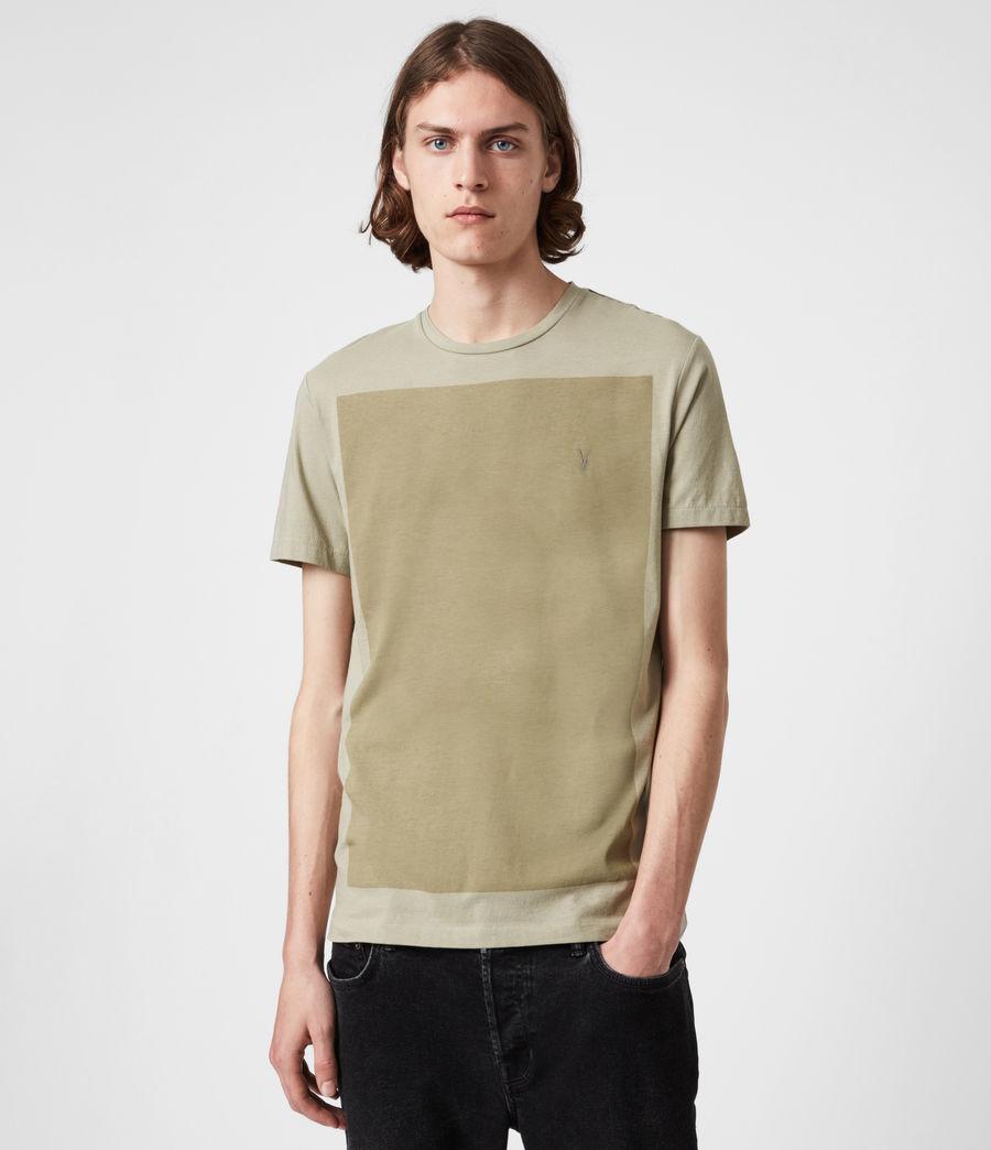 Hommes Lobke Crew T-Shirt (jasper_willow_taup) - Image 1