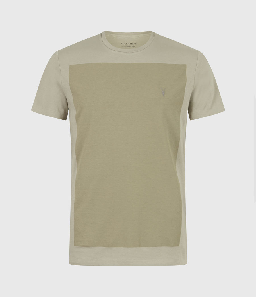 Hommes Lobke Crew T-Shirt (jasper_willow_taup) - Image 2