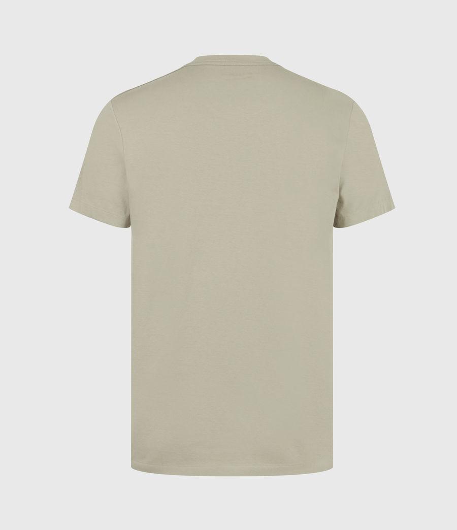 Hommes Lobke Crew T-Shirt (jasper_willow_taup) - Image 3
