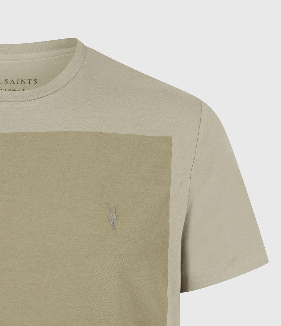 Hommes Lobke Crew T-Shirt (jasper_willow_taup) - Image 5