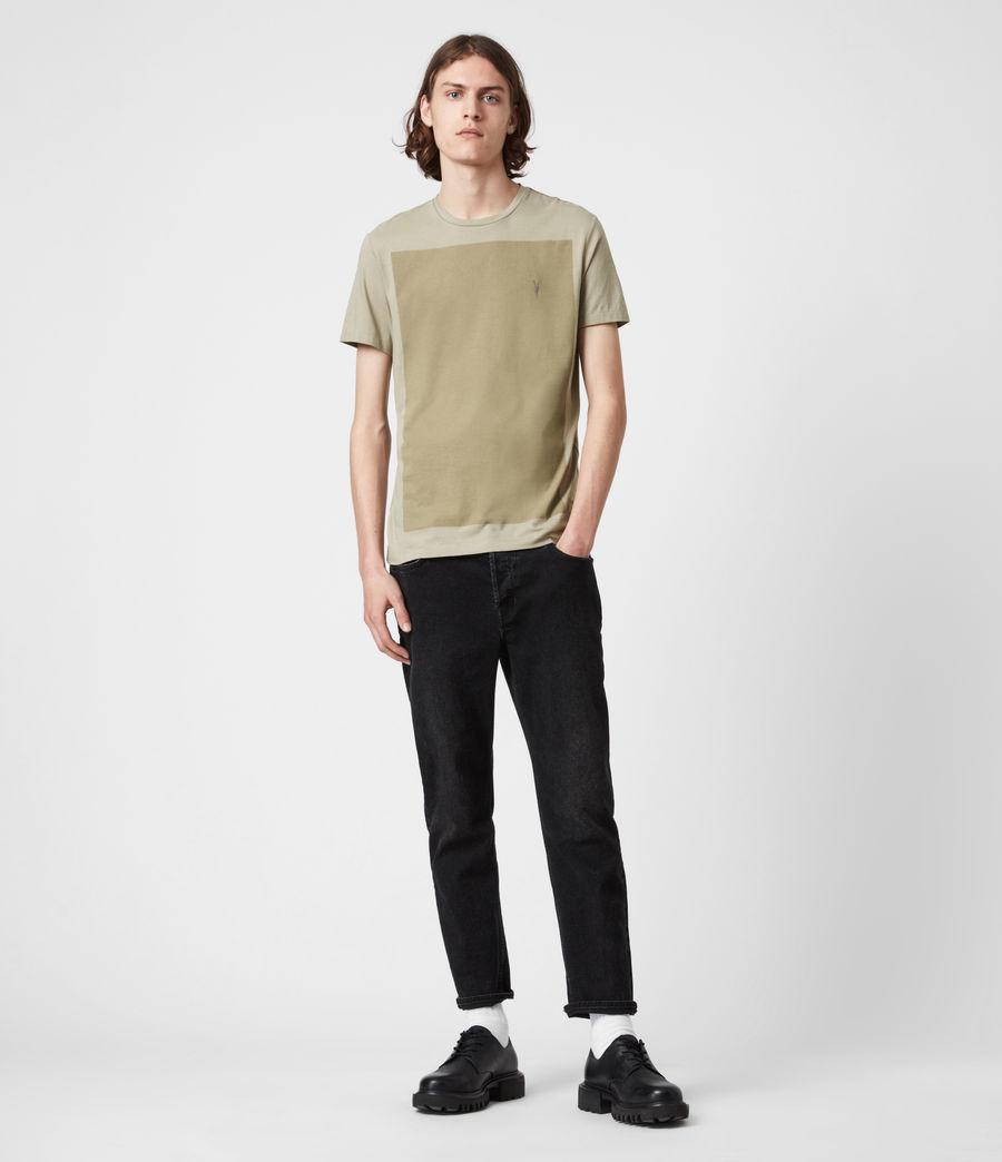 Hommes Lobke Crew T-Shirt (jasper_willow_taup) - Image 6