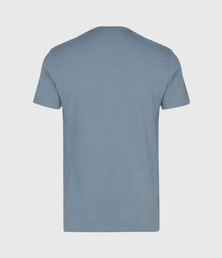 Mens Lobke Crew T-Shirt (twilight_putty_gry) - Image 3