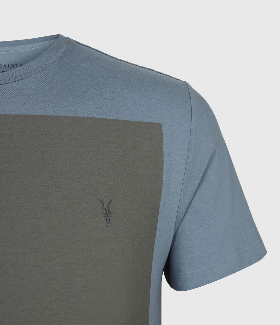 Mens Lobke Crew T-Shirt (twilight_putty_gry) - Image 5
