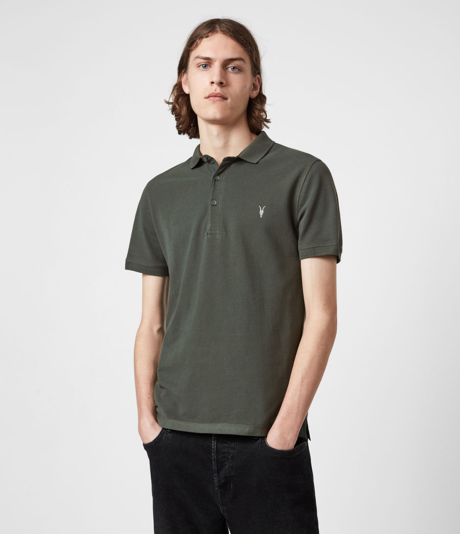 Men's Reform Short Sleeve Polo Shirt (sabel_green) - Image 1