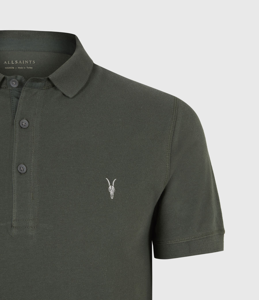 Men's Reform Short Sleeve Polo Shirt (sabel_green) - Image 5