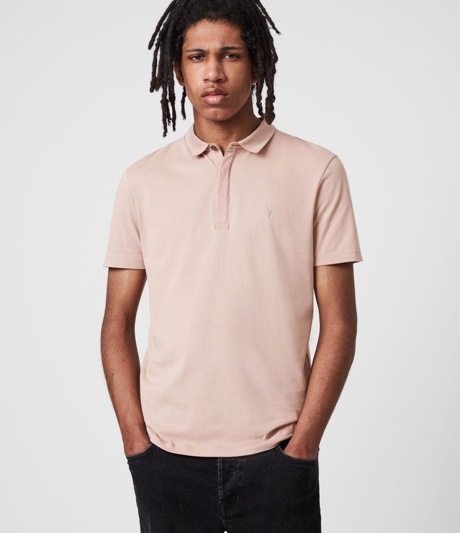 Herren Brace Polo Shirt (balsa_stone_pink) - Image 1