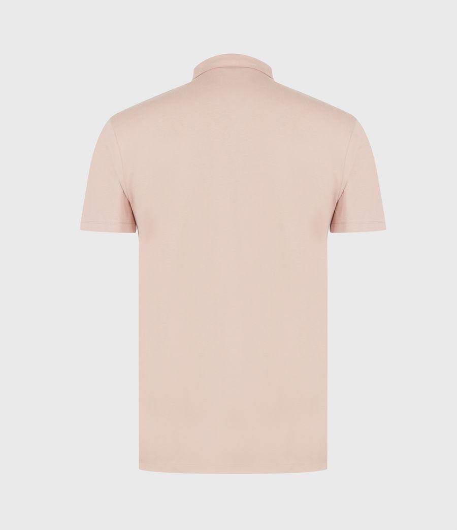 Herren Brace Polo Shirt (balsa_stone_pink) - Image 3
