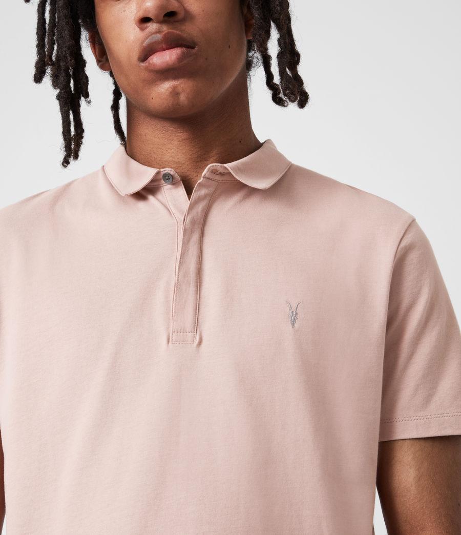 Herren Brace Polo Shirt (balsa_stone_pink) - Image 4