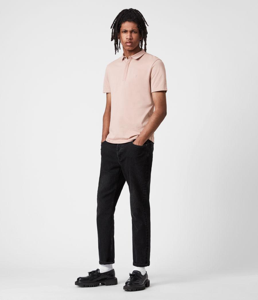 Herren Brace Polo Shirt (balsa_stone_pink) - Image 5