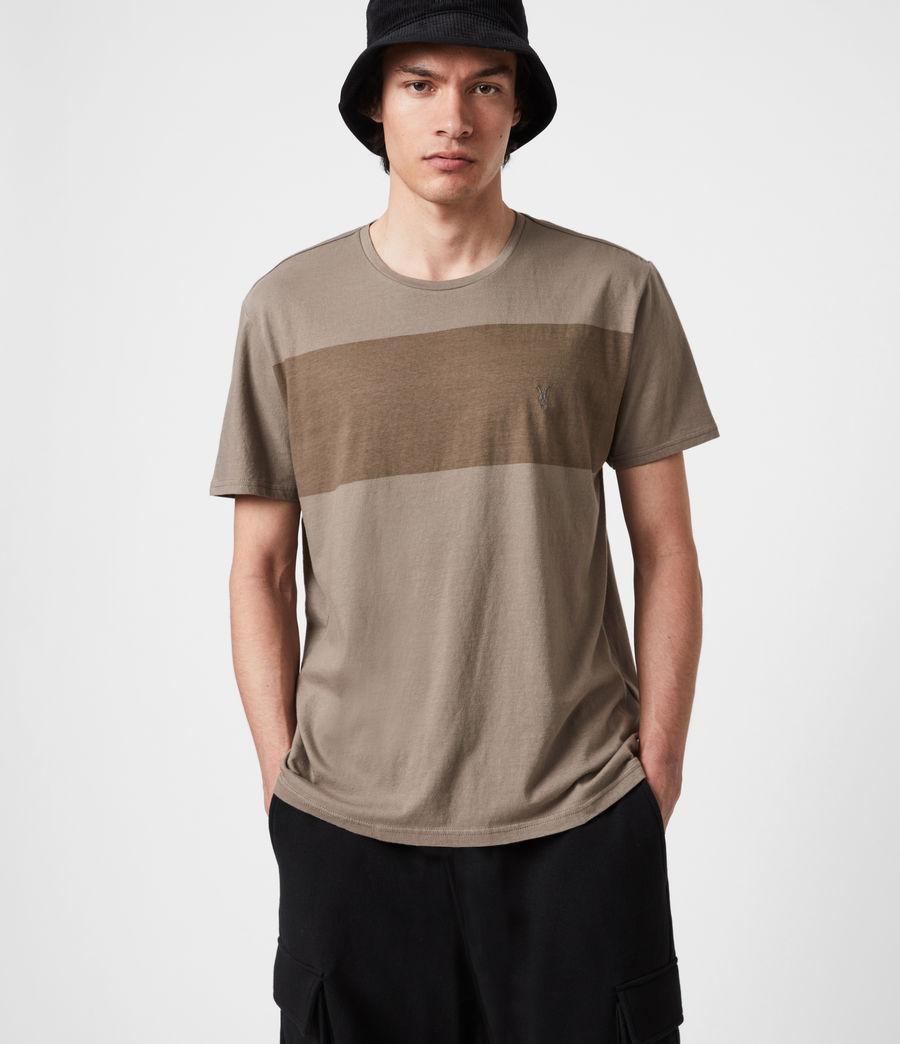 Hommes Kylo Crew T-Shirt (mangrove_brown) - Image 1